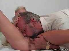 Lovely Teen Gets Fucked By Grandpa