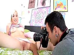 Teen Lily LaBeau gets in some hot fucking and sucking on film