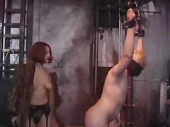 This Nasty Mistress Loves Whipping Her Slave And Humiliating