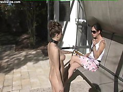 Lesbian foot domination and humiliation