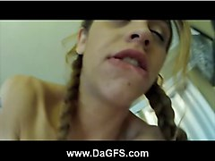 Tattooed nympho Sicily pussy plowed and facial