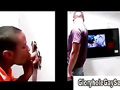 Straight guy duped at gloryhole