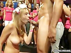 Petite Bride Sucks & Fucks At Her Bachelorette Party