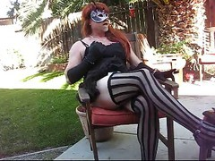 Smoking Fetish Crossdress