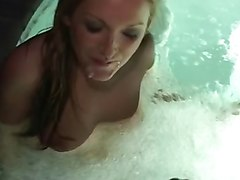 T2 McKayla hot tub POV cum in mouth