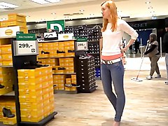 German Daria queen of high heels shopping 1