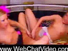 Twins Horny Blonde Fucking Twins on webchatvideo.com