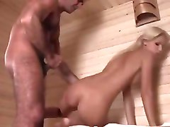 Hot blonde boroka have anal sex