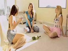 Girls Play Spin The Bottle