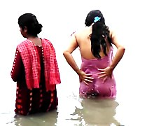 GANGA bathing caught