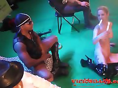 caroline de jaie y max rajoy interracial fuck on stage by viciosillos.com