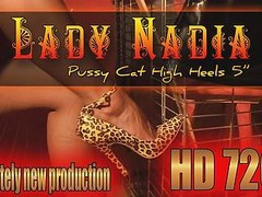 Ladynadia.com - Pussy Cat High Heels 5