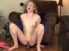my date from mature-fucks.com - small breasted milf chloe riding a big b