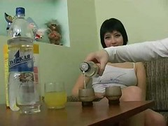 Drunk Russian Girl