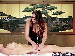 hot les masseuse licking
