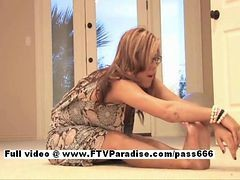 Leslie From Ftv Babes Independent Blonde Babe Does Flexible Fisting