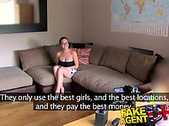 fakeagentuk hungarian babe shows great blowjob skills