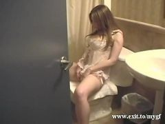 Ex Girlfriend Jade Cumming On Toilet Bowl