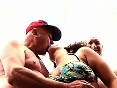 yummy chubby girl fucked by grandpas