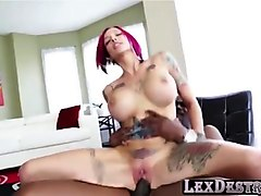 busty and redhead anna bell peaks gets destroyed by lexington