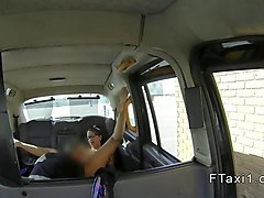 spanish amateur anal bangs in fake taxi