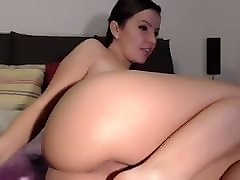 girl with beautiful ass and anus