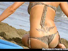 topless beach bikini babes hd voyeur spycam video