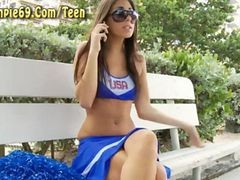 Cheerleader Creampie