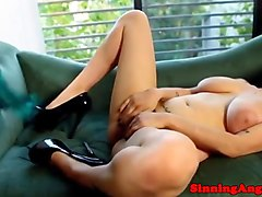 femdom aiden starr rules over her sub