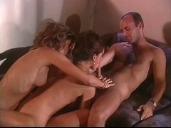 British Milf Nici Stirling Threesome On A Ship