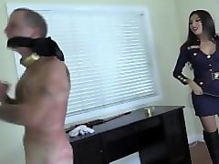 asian training whipping