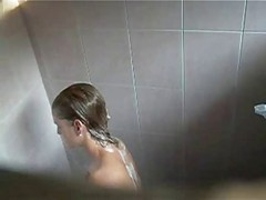 Petite 18yo Caught In The Shower