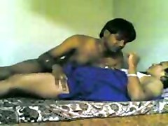 dude undresses and fucks his dark skin desi girlfriend