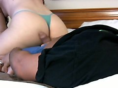 awesome asian sexy booty in hot panties in assjob action