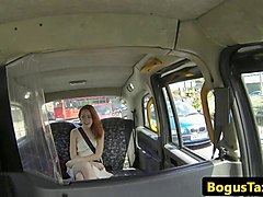 taxi latina railed in spanish shavedpussy