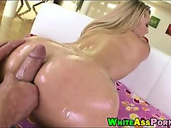 bubble butt babe aj applegate analyzed by big hard cock
