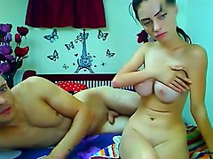 raissandraul private video on 06/26/15 05:01 from Chaturbate