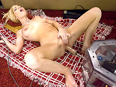 Amazing fetish adult scene with hottest pornstar Sascha Sin from Fuckingmachines