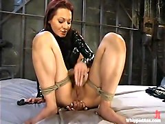 Veronica Lynn and Sandra Romain in Whippedass Video
