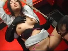 Asian Bound And Forced To Orgasm