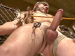 Connor Maguire tests his slave's hunger for pain