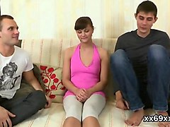bf assists with hymen examination and pounding of virgin nympho