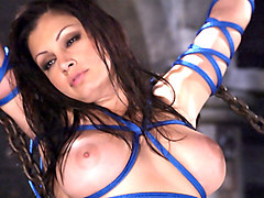 Amazing fetish adult scene with best pornstars Aria Giovanni and Isis Love from Waterbondage