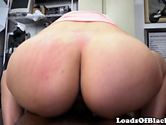 bigbooty amateur riding bbc at sex audition