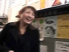 japanese slut gets picked up on the street and fucked hard