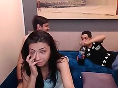 hot4some4you amateur record on 05/18/15 08:00 from Chaturbate
