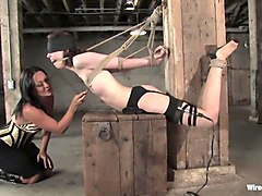 Exotic fetish xxx clip with crazy pornstar Sandra Romain from Wiredpussy