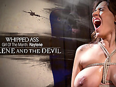 Exotic fetish, lesbian xxx clip with crazy pornstars Lorelei Lee and Andy San Dimas from Whippedass