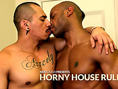 Marlone Starr & Romero Santos in Horny House Rules XXX Video - NextdoorEbony