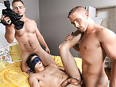 Landon Mycles & Scott Riley & Will Braun in My Two Gay Sons Part 3 - DrillMyHole